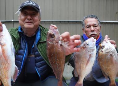 奥村釣船の2020年1月23日(木)1枚目の写真