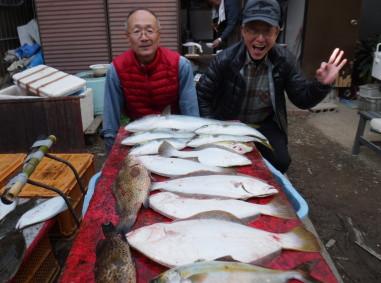 奥村釣船の2020年1月24日(金)2枚目の写真