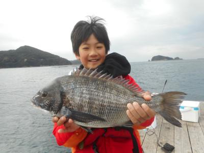由良海つり公園&釣堀ランドの2020年1月25日(土)1枚目の写真