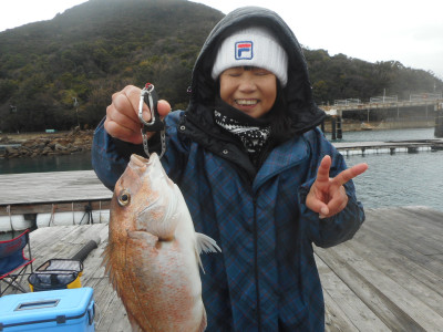 由良海つり公園&釣堀ランドの2020年1月26日(日)1枚目の写真