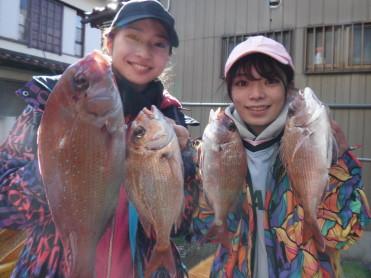 奥村釣船の2020年1月29日(水)1枚目の写真