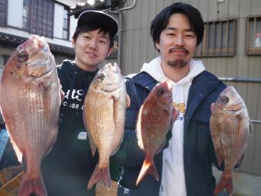 奥村釣船の2020年1月29日(水)2枚目の写真