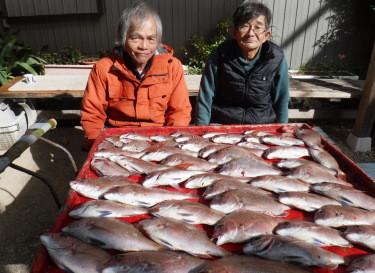奥村釣船の2020年1月30日(木)4枚目の写真