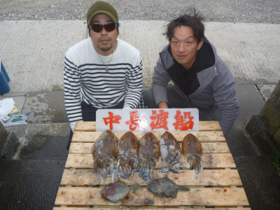 中長渡船の2020年2月2日(日)1枚目の写真