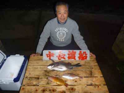 中長渡船の2020年2月15日(土)1枚目の写真