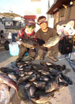 丸銀釣りセンターの2020年2月14日(金)4枚目の写真