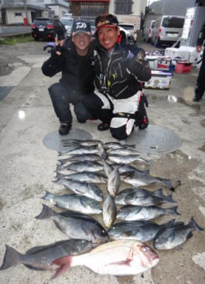 丸銀釣りセンターの2020年2月15日(土)5枚目の写真