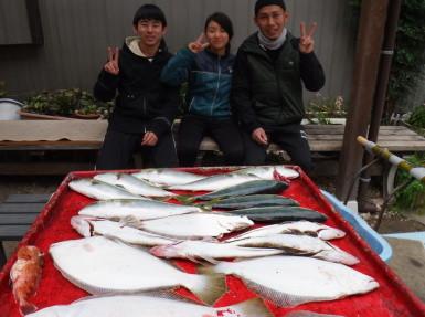 奥村釣船の2020年2月15日(土)4枚目の写真
