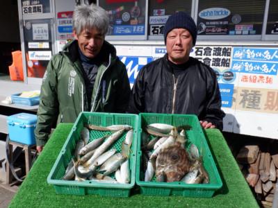 石倉渡船の2020年2月17日(月)5枚目の写真