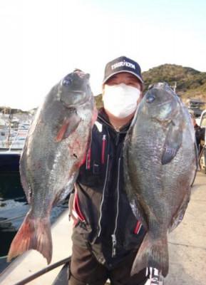 丸銀釣りセンターの2020年2月19日(水)2枚目の写真