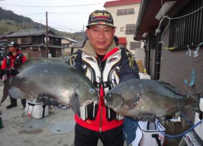 丸銀釣りセンターの2020年2月22日(土)4枚目の写真