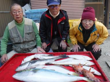 奥村釣船の2020年2月21日(金)3枚目の写真