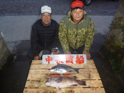 中長渡船の2020年2月23日(日)1枚目の写真