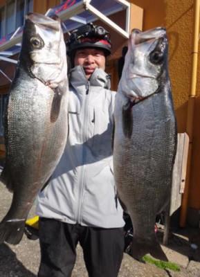 丸銀釣りセンターの2020年2月23日(日)4枚目の写真