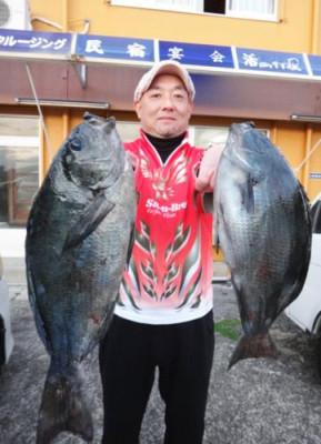丸銀釣りセンターの2020年1月27日(月)1枚目の写真