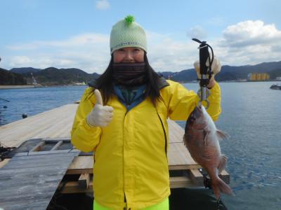 由良海つり公園&釣堀ランドの2020年3月11日(水)1枚目の写真