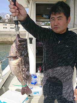 新西釣具店(新西丸)の2020年2月23日(日)1枚目の写真