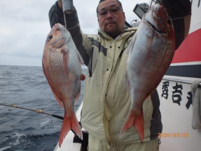秀吉丸の2020年3月22日(日)1枚目の写真