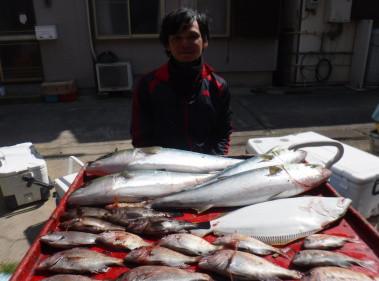 奥村釣船の2020年3月24日(火)2枚目の写真