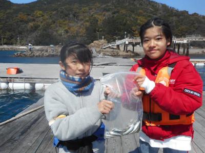 由良海つり公園&釣堀ランドの2020年3月24日(火)1枚目の写真