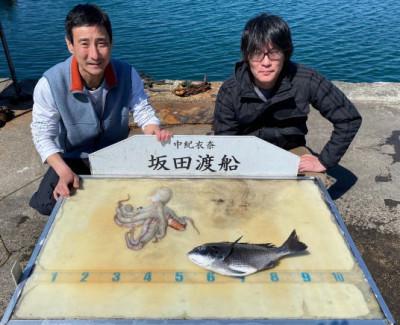坂田渡船の2020年3月20日(金)5枚目の写真