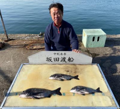 坂田渡船の2020年3月21日(土)3枚目の写真