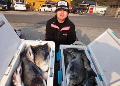 丸銀釣りセンターの2020年3月25日(水)1枚目の写真