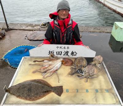 坂田渡船の2020年3月28日(土)1枚目の写真