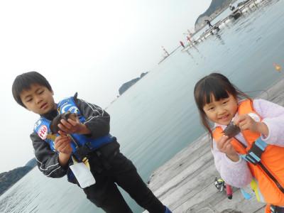 由良海つり公園&釣堀ランドの2020年4月3日(金)1枚目の写真