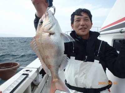 秀吉丸の2020年4月4日(土)1枚目の写真