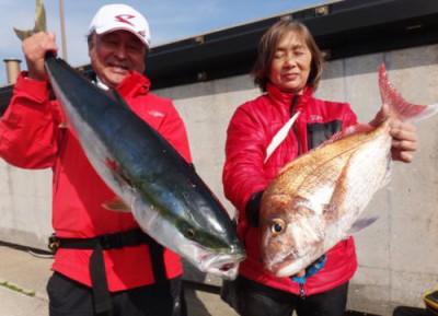 丸銀釣りセンターの2020年4月4日(土)2枚目の写真