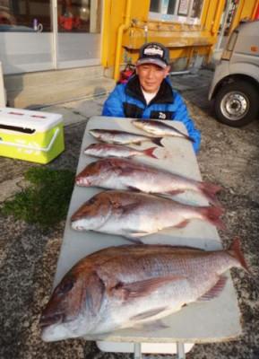 丸銀釣りセンターの2020年4月8日(水)3枚目の写真