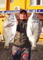 丸銀釣りセンターの2020年4月14日(火)3枚目の写真
