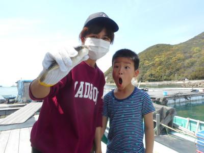 由良海つり公園&釣堀ランドの2020年4月15日(水)1枚目の写真