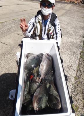 丸銀釣りセンターの2020年5月24日(日)5枚目の写真