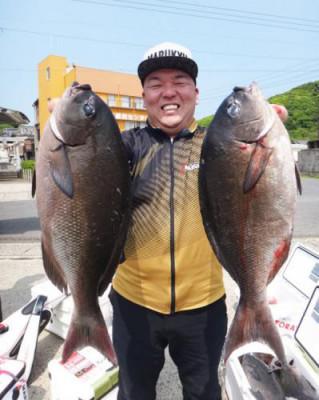丸銀釣りセンターの2020年5月28日(木)3枚目の写真