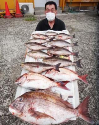 丸銀釣りセンターの2020年5月30日(土)1枚目の写真