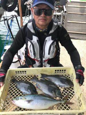 垂水一文字船長丸(海神丸)の2020年6月4日(木)1枚目の写真