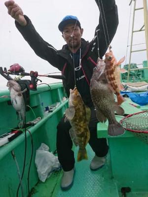 釣船・釣具店 やまさ丸の2020年6月14日(日)2枚目の写真