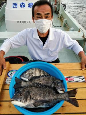 西森渡船の2020年6月15日(月)1枚目の写真