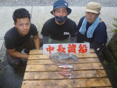 中長渡船の2020年7月17日(金)1枚目の写真
