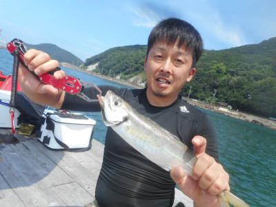 由良海つり公園&釣堀ランドの2020年7月18日(土)1枚目の写真