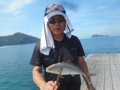 由良海つり公園&釣堀ランドの2020年7月21日(火)1枚目の写真