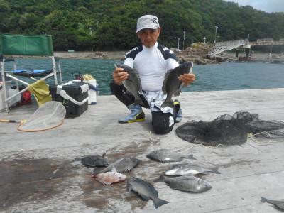 由良海つり公園&釣堀ランドの2020年7月28日(火)1枚目の写真