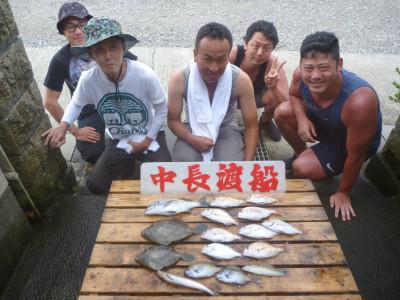 中長渡船の2020年7月29日(水)1枚目の写真