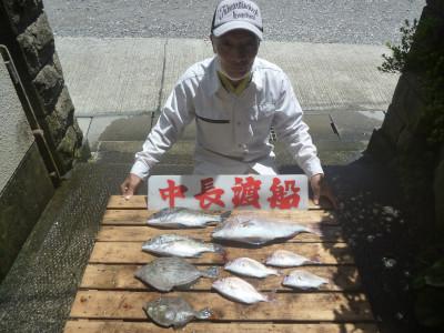 中長渡船の2020年7月29日(水)3枚目の写真