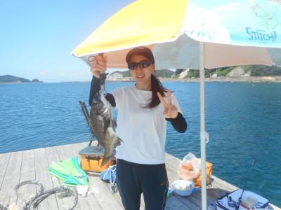 由良海つり公園&釣堀ランドの2020年7月31日(金)1枚目の写真