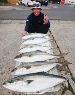 丸銀釣りセンターの2020年7月22日(水)3枚目の写真