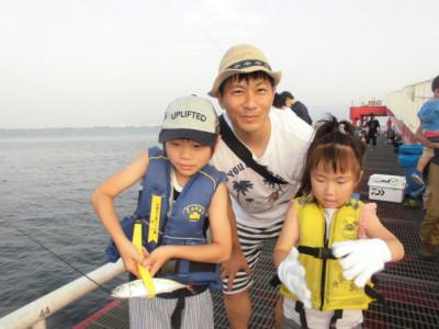 尼崎市立魚つり公園の2020年8月22日(土)1枚目の写真