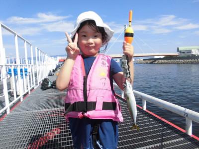 尼崎市立魚つり公園の2020年8月23日(日)1枚目の写真